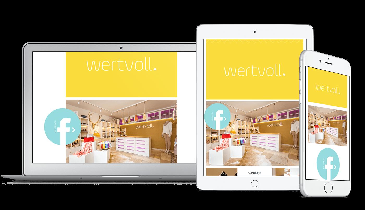 Webdesign und Webentwicklung für wertvoll Regensburg